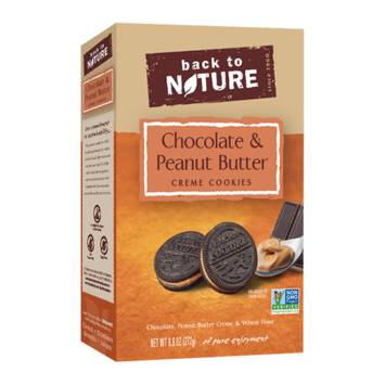 Back To Nature Foods Back To Nature Chocolate And Peanut Butter Cr me, 9.6 oz