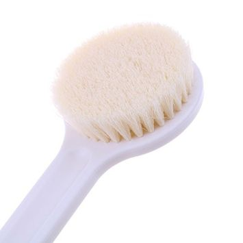 Exfoliation Body Cleaning Brush Shower Bath Brush with Long Handle Back Bathing Cleansing