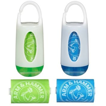 Munchkin Arm and Hammer Diaper Bag Dispenser, Assorted Colors, 2 Pack