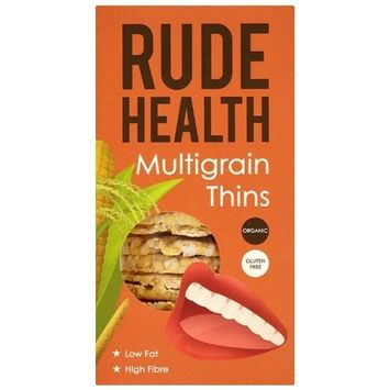 Rude Health Multigrain Thins Organic 160 g (Pack of 5)