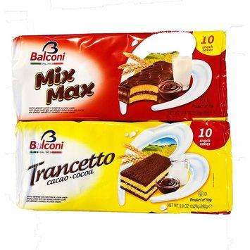Balconi Trancetto Cocoa and Mix Max Combo Pack