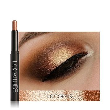 Voberry Beauty Pro Eyeshadow Pencil Cosmetic Glitter Eye Shadow Pen (12 Colors)