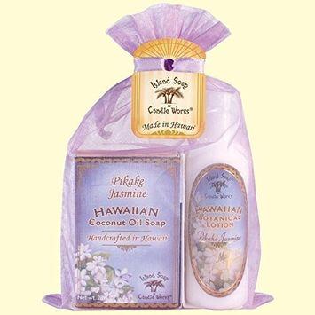 Hawaiian Botanical Pikake Jasmine Organza Gift Bag by Island Soap and Candle Works