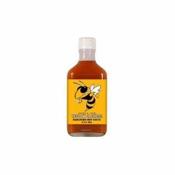 Georgia Tech Yellowjackets NCAA Habanero Hot Sauce in a Flask (6.6 oz)