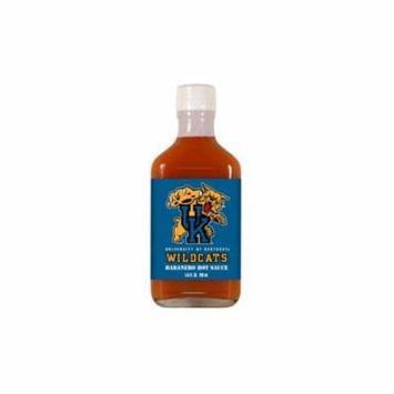 Kentucky Wildcats NCAA Habanero Hot Sauce in a Flask (6.6 oz)