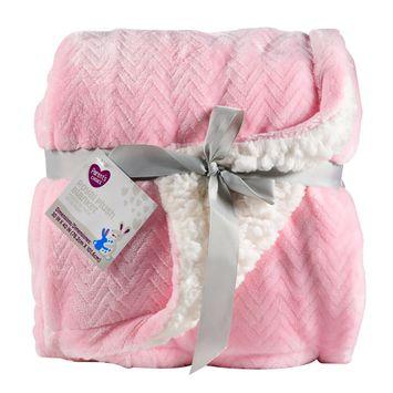 Parent's Choice Royal Plush Blanket, Pink
