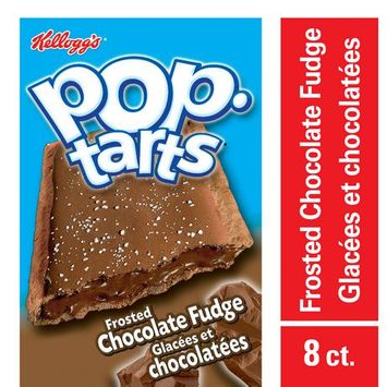 Kellogg Pop-Tarts* Frosted Chocolate Fudge Toaster Pastries