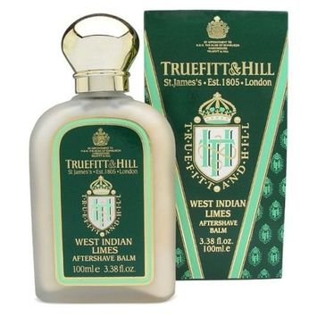 Truefitt & Hill Aftershave Balm- West Indian Lime (3.38 oz)