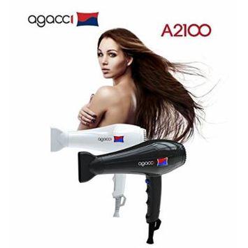 H2PRO Agacci Hair Dryer 2000 Watt - A2100 Jet Stream White Made in Korea