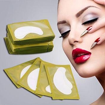 Eyelash Pad, Kapmore 50Pcs Paper Eyelash Pad Under Eye Pad Eyelash Sticker