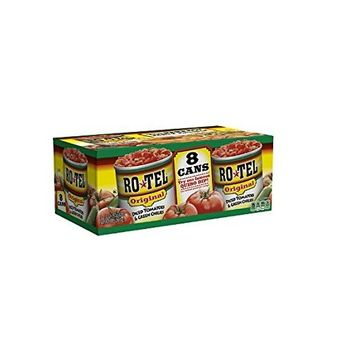 RO-TEL Diced Tomatoes & Green Chilies (10 oz. cans, 8 ct.)