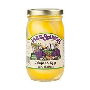 Jake and Amos Jalapeno Pickled Eggs (3 Pack)