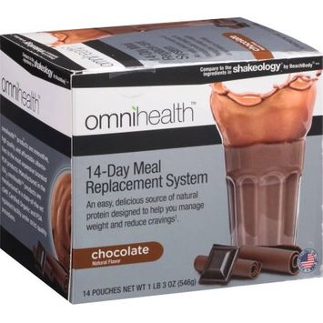 Universal Group Holdings Omnihealth 14-Day Meal Replacement System, Chocolate