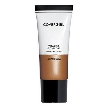 COVERGIRL Vitalist Go Glow Glotion, Bronze, 0.06 Pound (packaging may vary)