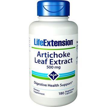 Life Extension Artichoke Leaf Vegetarian Capsules, 180 Count