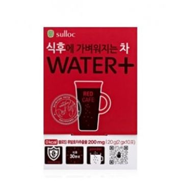 Osulloc Water + Red Cafe 10 sticks in a box