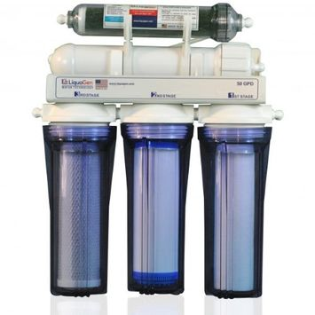 LiquaGen 5 STAGE REVERSE OSMOSIS/DEIONIZATION (RO/DI) WATER FILTRATION SYSTEM