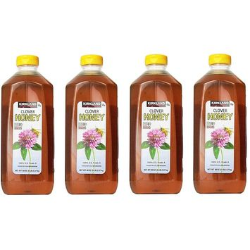 Kirkland Signature Pure Honey, dVnGFU 4 Pack(5 Pound)