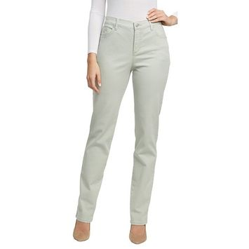 Gloria Vanderbilt Women's Amanda Classic Tapered Slimming Jean [name: actual_color value: actual_color-desertsage]