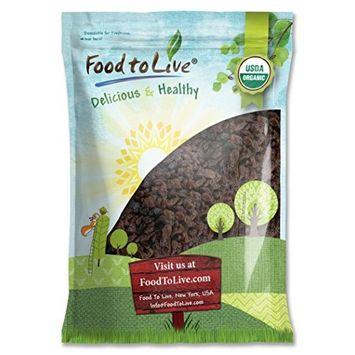 Food To Live ® Organic California Thompson Seedless Raisins (Sun-Dried, Non-GMO, Unsulphured, Bulk) (16 Pounds)