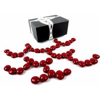 Cuckoo Luckoo Gourmet Chocolate Covered Royal Cherries, 1 lb Bag in a BlackTie Box
