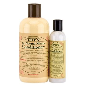 Tate's Natural Miracle Conditioner - 18 fl oz with FREE 5 fl oz Mini Conditioner!