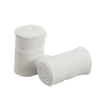 BodyHealt Stretch Gauze Bandage Roll, Non-Sterile4 inch Length x 4 Yards