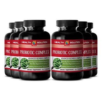 Probiotic immune system booster - PROBIOTIC COMPLEX 550MG - boost digestion (6 Bottles)