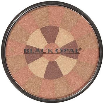 [VALUE PACK OF 3] BLACK OPAL Color Fusion Mosaic Powder 0.4 OZ [SHIMMER BRONZER] : Beauty