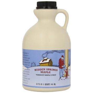 Hidden Springs Maple Natural Syrup [Dark Robust (Formerly Grade B)]