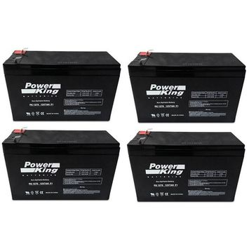 Electric Scooter Batteries ( Includes 4 12V 7ah ) F2