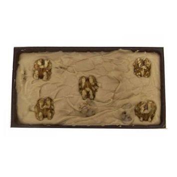 Home Made Creamy Maple English Walnut Fudge - 12 OZ Gift Box [Maple English Walnut]