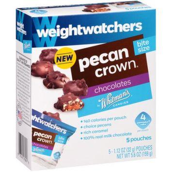 Whitman's Weight Watchers Pecan Crown Bite Size Chocolates, 1.12 oz, 5 count