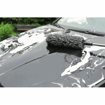Smarit Multi-functional Microfiber Telescopic Car Wash Duster Cleaning Wax Brush