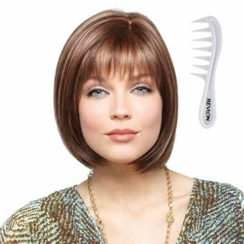 ERIKA Monofilament Wig #2532 Amore Collection by Rene of Paris, Bundle - 2 Items: Wig and Wig Lift Comb (Color Selected: COPPER GLAZE)
