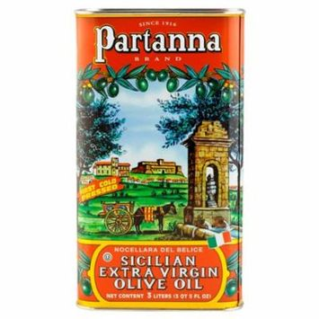 Partanna Extra Virgin Olive Oil 101 oz Tin