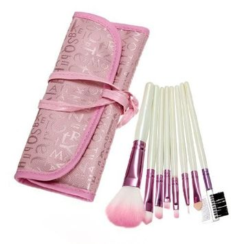 Science Purchase 78VK14226-3 22Piece Pink Professional Brush Set