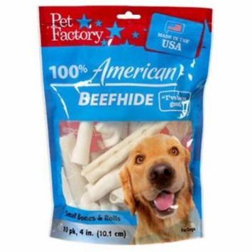 American Beefhide Rawhide Dog Treat Assorted Only One
