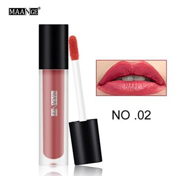 Hot Sales! DEESEE(TM) 12 Colors New Fashion Lipstick Cosmetics Women Sexy Lips Matte Lip Gloss Party