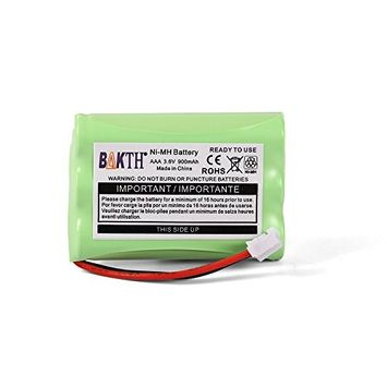 BAKTH 900mAh 3.6V NI-MH Replacement Battery for Motorola MBP27T MBP33 MBP33S MBP33PU MBP33BU MBP33P MBP36 MBP36S MBP36PU MBP35 MBP41 MBP43 MBP18 CB94-01A Baby Monitor