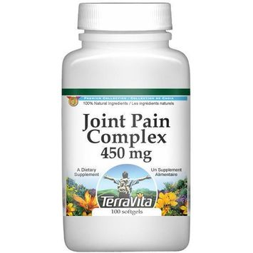 Joint Pain Complex - Boswellin, Glucosamine and Turmeric - 450 mg (100 capsules, ZIN: 516871)