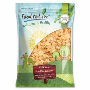 Food to Live Dried Diced Pineapple (Sweetened, Unsulfured, Bulk) (10 Pounds)
