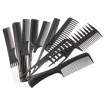 Anti-static Hairbrush Hair Care Styling Tools Set Hair Combs Kits Salon Barber Comb Brushes