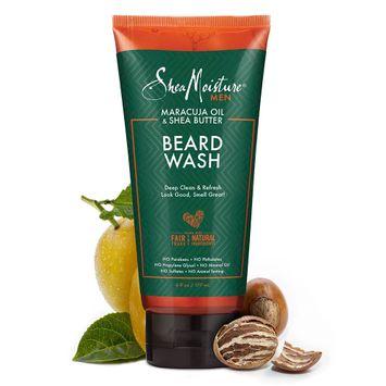 SheaMoisture Men Maracuja Oil & Shea Butter Beard Wash