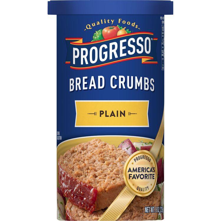 Progresso Plain Bread Crumbs, 8 oz