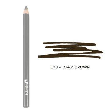 (3 Pack) Nabi Cosmetics Eye Pencil - Dark Brown : Beauty