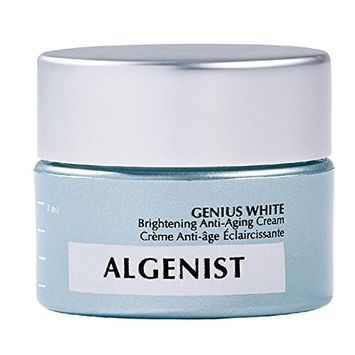 Algenist Cream, Genius White Brightening Anti-Aging, 0.23 Ounce [Genius White Brightening Anti-Aging]