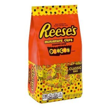 Reese's Miniatures Stuffed with REESE'S PIECES Minis Bag - 11oz