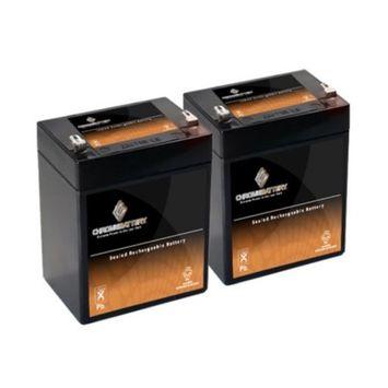 12V 2.9AH Sealed Lead Acid (SLA) Battery - T1 Terminals - for ZB-12-2.9 - 2PK - S00006-2PK-00000