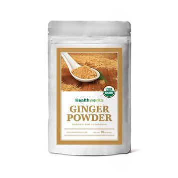 Healthworks Ginger Powder Raw Organic, 1lb